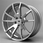 2015 Ford Mustang Outlaw Wheels - HO Silver Finish