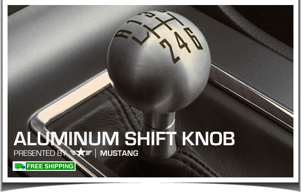 2011 2012 2013 mustang factory aluminum shift knob br3z. Black Bedroom Furniture Sets. Home Design Ideas